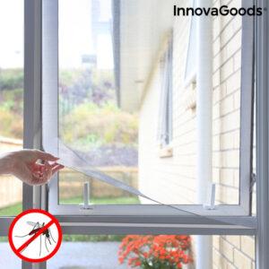 Rede Anti-Mosquitos Adesiva Recortável para Janelas White InnovaGoods
