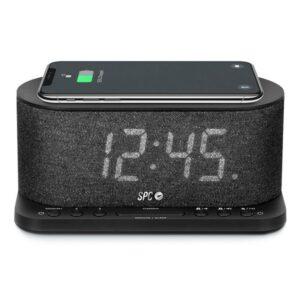 Rádio Despertador com Carregador sem Fios SPC 4582N 4,3