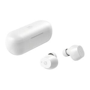Auriculares Bluetooth com microfone Hiditec Kondor 450 mAh Branco