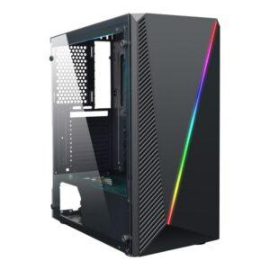 Caixa Semitorre Micro ATX / ATX CoolBox Deep Abyss RGB LED