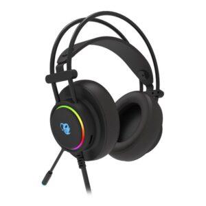 Auscultadores com microfone para Vídeojogos CoolBox DG-AUR-01 Preto
