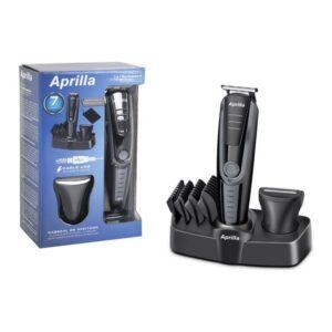 Barbeador elétrico Aprilla AHC-5018 USB Preto