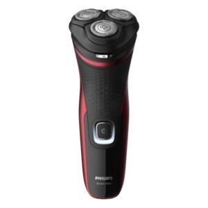 Máquina de Barbear Elétrica Recarregável Philips S1333/41 Preto