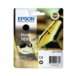 Tinteiro de Tinta Original Epson T16XL Preto