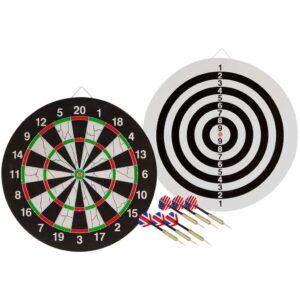 Abbey Darts Alvo de dupla face c/ 2 conjuntos de dardos 52AZ-UNI-Uni  - PORTES GRÁTIS
