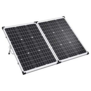 Mala com painel solar dobrável 120 W 12 V   - PORTES GRÁTIS