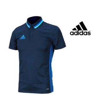 Adidas® Polo 16 Blue | Tecnologia Climalite®