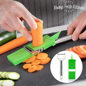 Mandolina e Descascador de Legumes 2 em 1 Slide & Slice