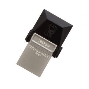 Memória USB e Micro USB Kingston DTDUO3 32 GB USB 3.0 Preto Cinzento