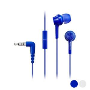 Auriculares com microfone In-ear Panasonic Corp. TCM115E Azul