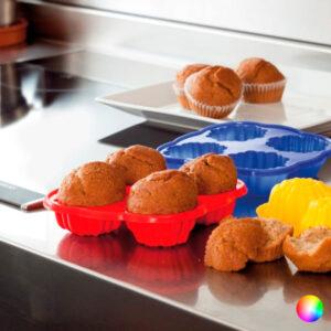 Formas de Silicone para Cupcakes 143986 Vermelho