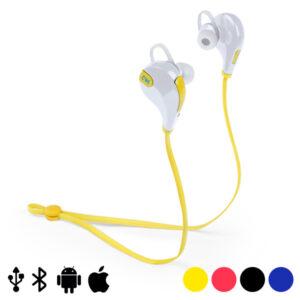 Auriculares Bluetooth para prática desportiva 145070 Amarelo