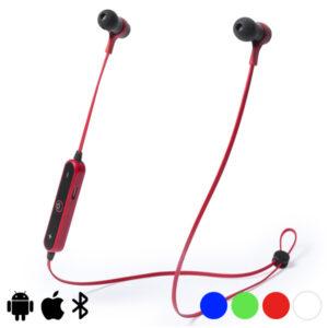 Auriculares de botão Bluetooth 145337 Vermelho
