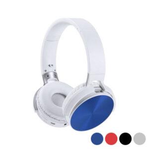 Auscultadores de Diadema Dobráveis com Bluetooth 145945 Prateado
