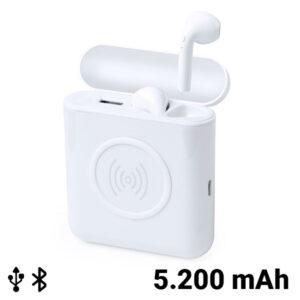 Auriculares Bluetooth 146302 Branco
