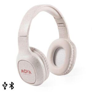 Auscultadores de Diadema Bluetooth 146510 Natural