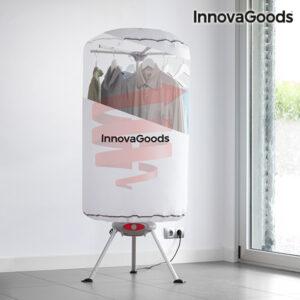 Secador de Roupa Portátil InnovaGoods 1000W Branco