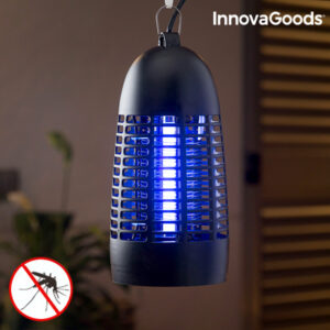 Lâmpada Anti-mosquitos KL-1600 - 4W Preto - VEJA O VIDEO