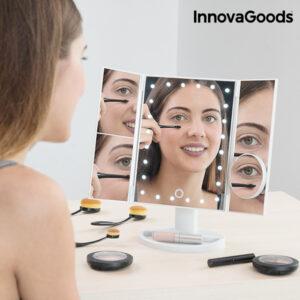 Espelho LED de Aumento 4 em 1 - VEJA O VIDEO