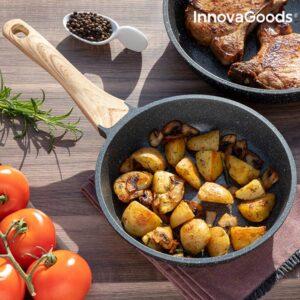 Frigideira Premium Granite-Effect InnovaGoods (20 cm)