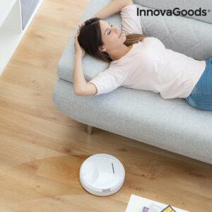 Robot Aspirador Inteligente Rovac Branco - VEJA O VIDEO