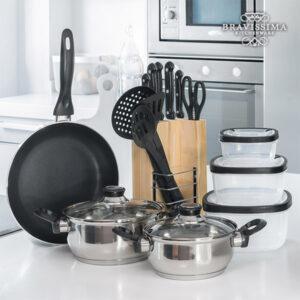 Conjunto de Cozinha Bravissima Kitchen (17 peças)