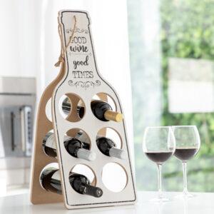 Garrafeira Dobrável de Madeira Good Wine