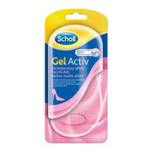 Palmilhas Gel Active Scholl Tacões Muito Altos