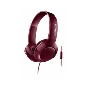 Auriculares com microfone Philips SHL3075/10 BASS+ 40 mW (3.5 mm) Vermelho