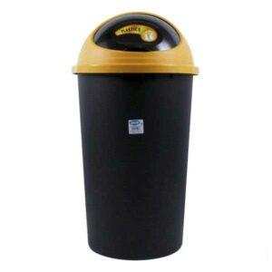 Balde de Lixo Big Hoop Tontarelli 45 L Plástico (ø 39 x 72 cm) Amarelo
