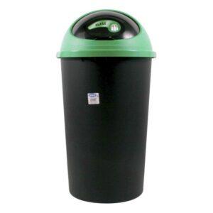 Balde de Lixo Big Hoop Tontarelli 45 L Plástico (ø 39 x 72 cm) Verde