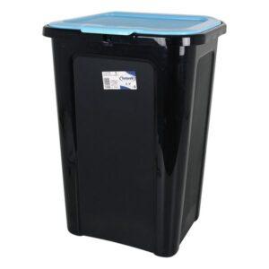 Balde de Lixo Tontarelli 44 L Plástico (38,5 x 34,5 x 54,5 cm) Azul