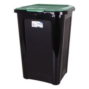 Balde de Lixo Tontarelli 44 L Plástico (38,5 x 34,5 x 54,5 cm) Verde