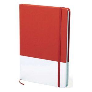 Bloco de Notas Vermelho (14,7 x 21 x 1,5 cm)