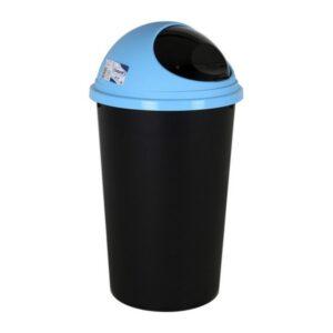Caixote de Lixo para Reciclagem Tontarelli Small Hoop 25 L Azul