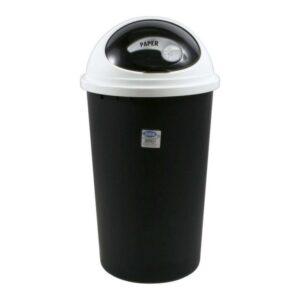Caixote de Lixo para Reciclagem Tontarelli Small Hoop 25 L Branco