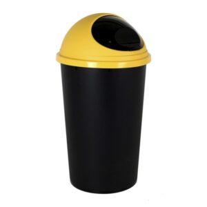 Caixote de Lixo para Reciclagem Tontarelli Small Hoop 25 L Amarelo