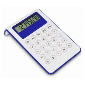 Calculadora Com Inclinação Azul
