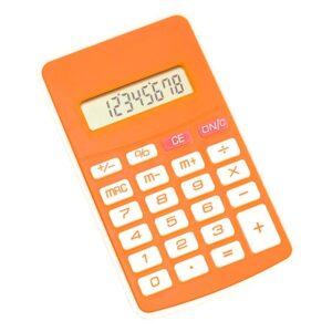 Calculadora Bicolor Laranja