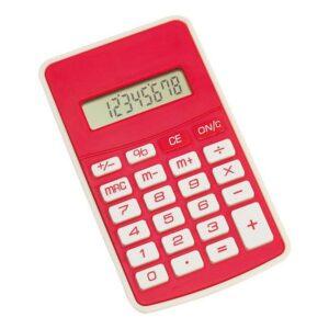 Calculadora Bicolor Vermelho