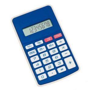Calculadora Bicolor Azul