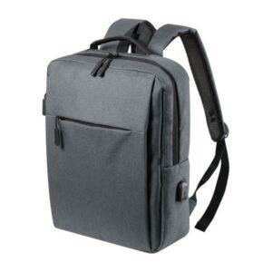 Mochila para Portátil e Tablet com Saída USB 146473 Cinzento