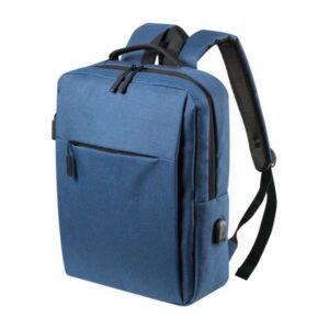 Mochila para Portátil e Tablet com Saída USB 146473 Azul