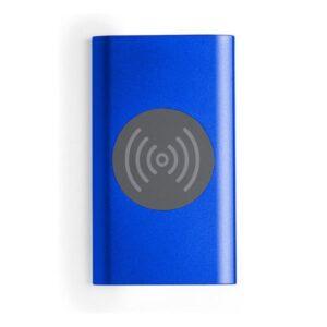 Power Bank 4000 mah com Carregador sem Fios Azul