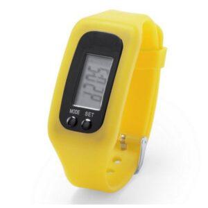 Pulseira de Atividade LCD 145313 Amarelo