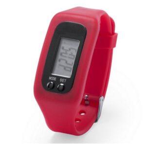 Pulseira de Atividade LCD 145313 Vermelho