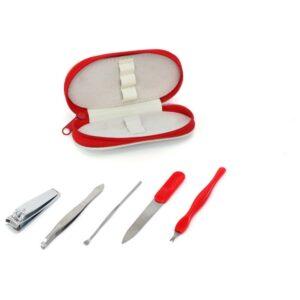Set de manicure (5 pcs) 143470 Vermelho