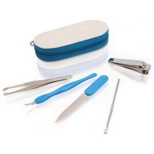Set de manicure (5 pcs) 143470 Azul