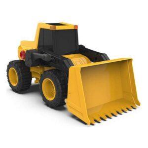 Camião Retroescavadora Amarelo