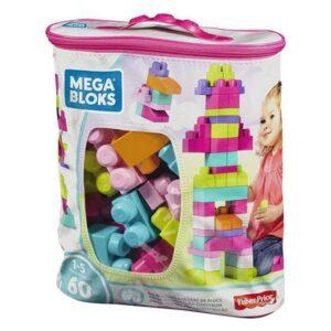 Blocos de Construção Mega Mattel (60 pcs) Cor de rosa